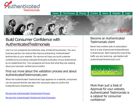 Authenticated Testimonial large